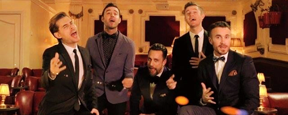 "The Overtones ""Can't take my eyes off you"""