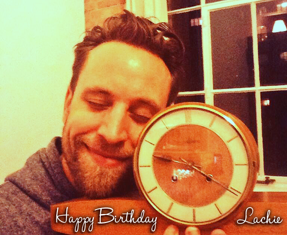 Happy Birthday Lachie!