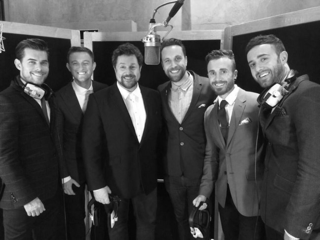 "Duett mit Michael Ball ""Let It Be Me"""