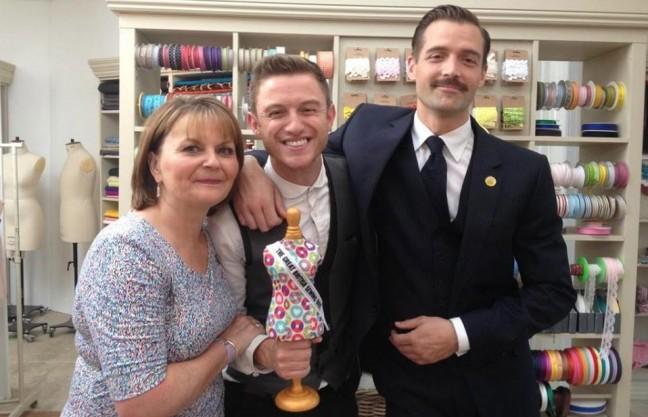 """Timmy, der Gewinner von """"The Great British Sewing Bee"""""""