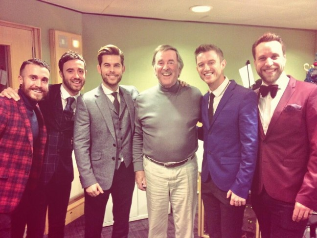 The Overtones with Terry Wogan 08.12.2013