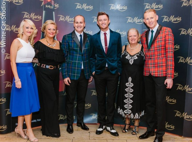 Timmy at the Tia Maria Style awards 2014