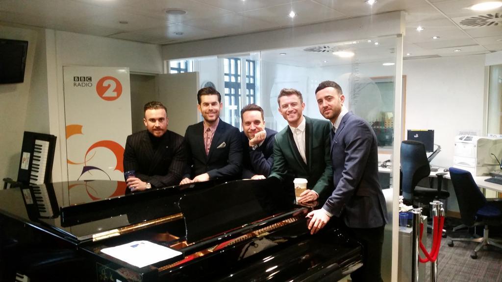 The Overtones bei der Terry Wogan Show BBC Radio 2