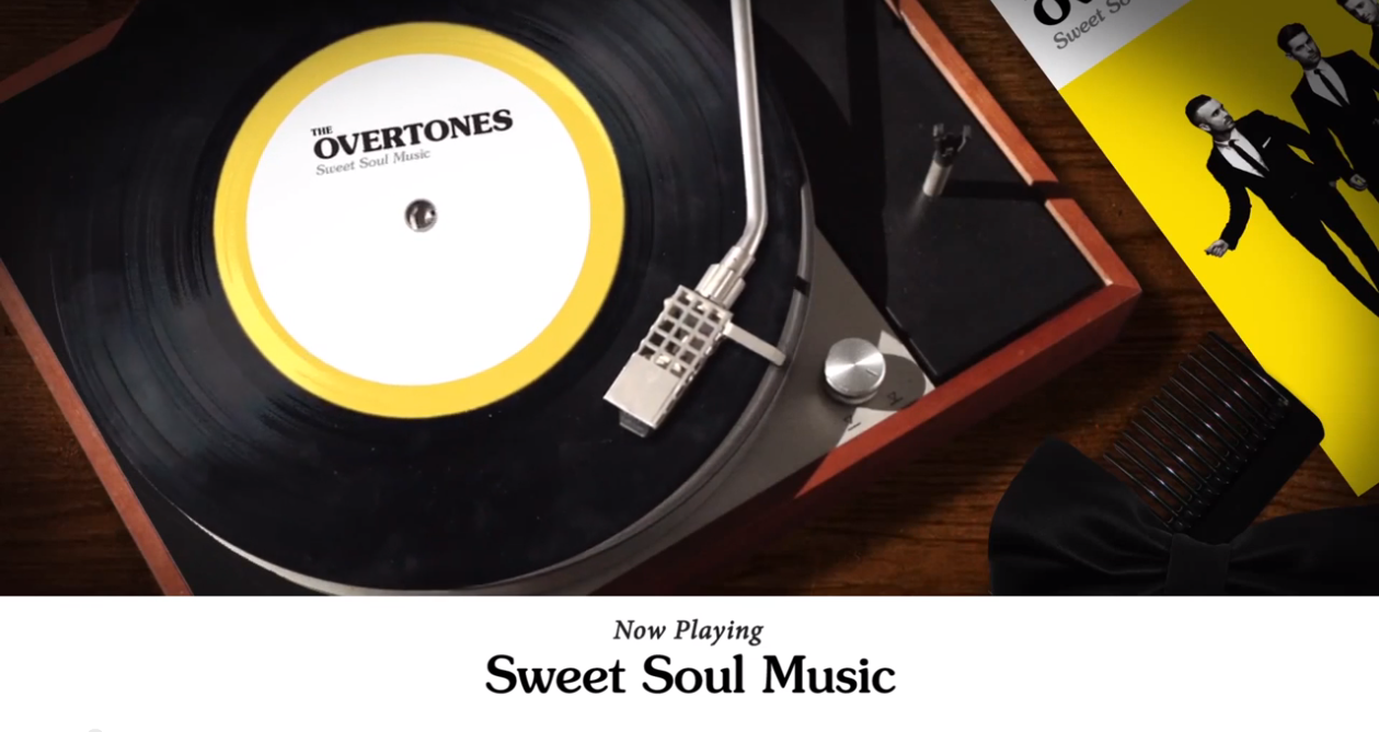 """Song """"Sweet Soul Music"""" The Overtones"""