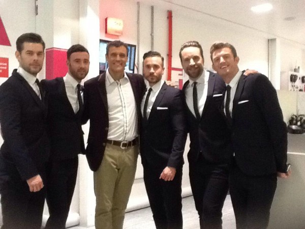 The Boys on QVC UK with Simon Biagi