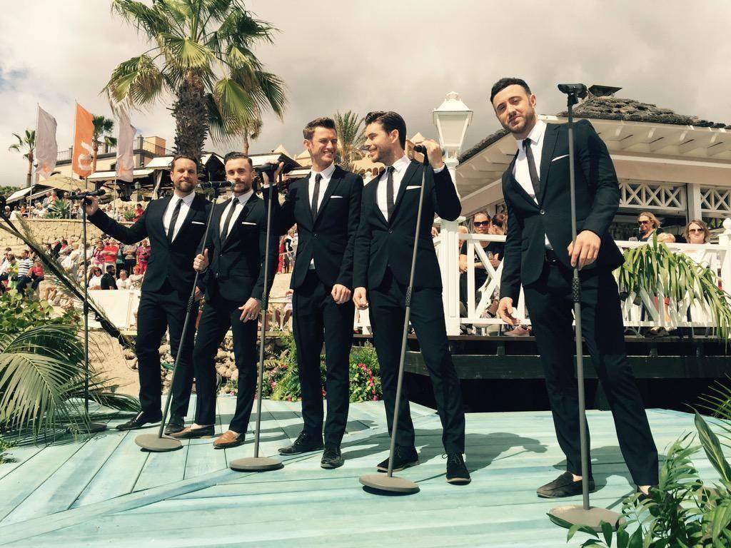 The Overtones beim ZDF Fernsehgarten on Tour auf Teneriffa