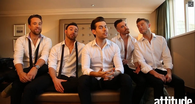 The Overtones Attitude Shoot
