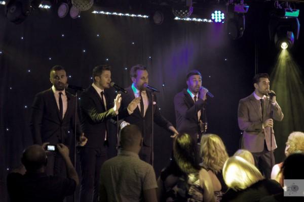 The Overtones at Alvaston Hotel