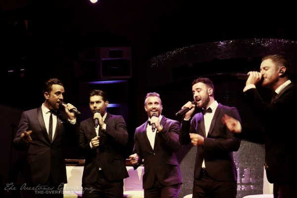The Overtones at The Buttermarket in Shrewsbury