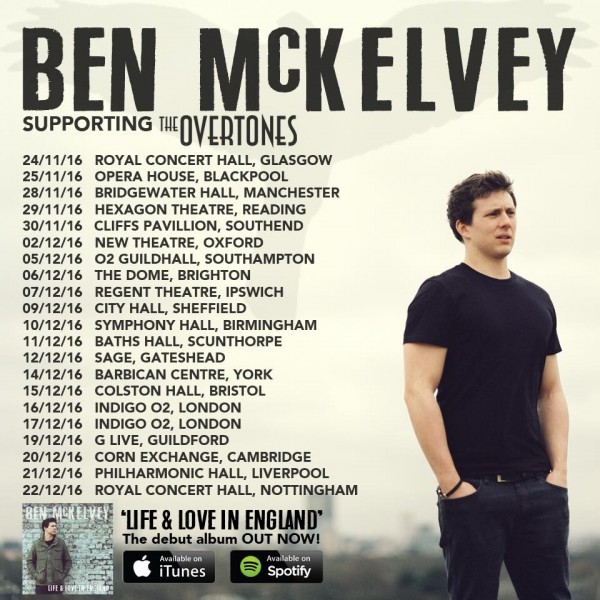 Bens Tour support poster