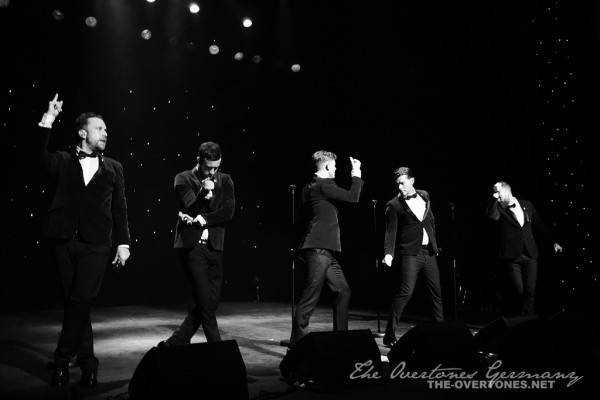 The Overtones in Crewe, credit: The Overtones Germany