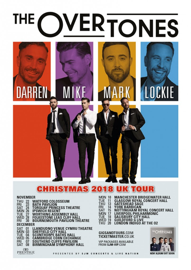 The Overtones tour poster